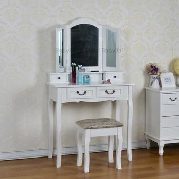 Bedroom Furniture White Wooden Storage Mirror Dresser - Buy Cheap Mirror  Dresser,Make Up Vanity Table,Bedroom Vanity Table Product on Alibaba.com