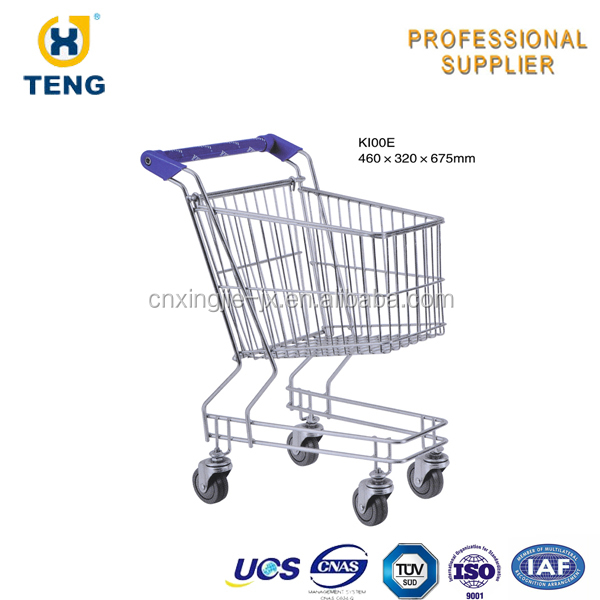 K100E Colorful Supermarket Shopping Cart for Baby