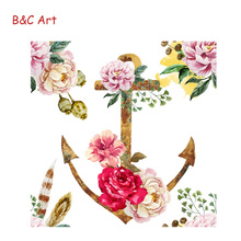 Artist Canvas Roll Peony Flower Decor 3D posters Printing for Sale