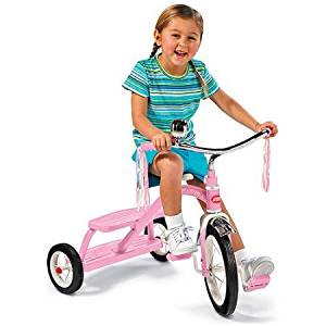 Radio Flyer Classic Red Dual-Deck Tricycle,Pink
