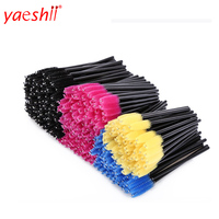 yaeshii Top Quality eyelash brush Eye Lashes Disposable Mascara Wands , Eyelash Extension Brush
