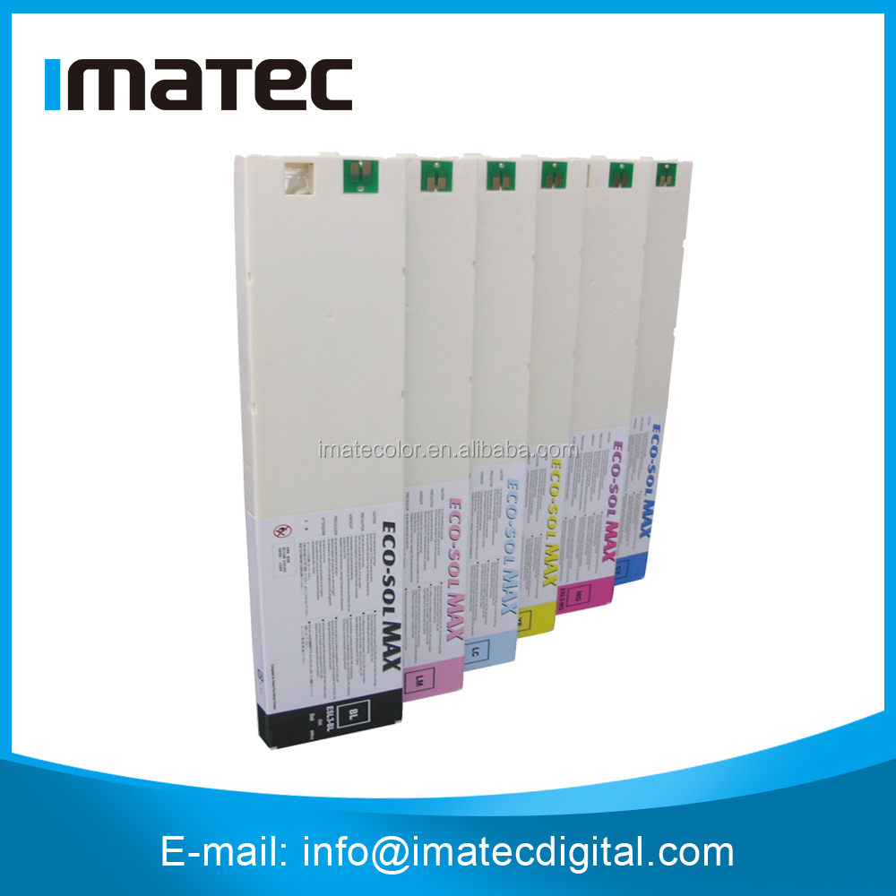 440ML Eco Solvent Ink Cartridge Roland, Compatible Eco Sol Max Ink for Roland VS540, VP540, XC540