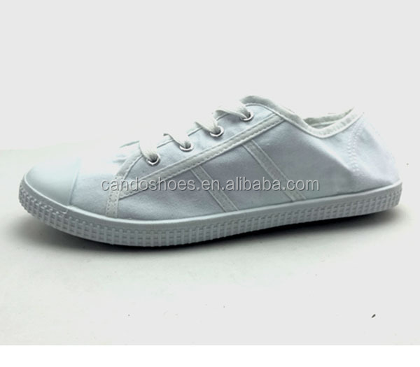 Warm Product Natural Fabric Girl Stock Shoes Teenage Girls School Shoes
