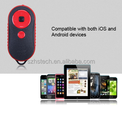 selfie stick remote controller Music/video Multimedia shutter release for iOS Android Mobile Phone