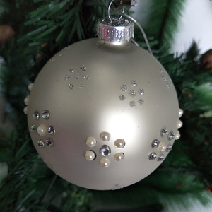 Best selling hot chinese products glass christmas ornaments uk With CE and ISO9001 Certificates