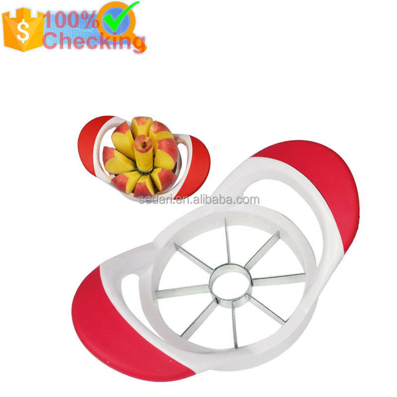 Hot selling plastic apple peeler corer slicer apple cutter