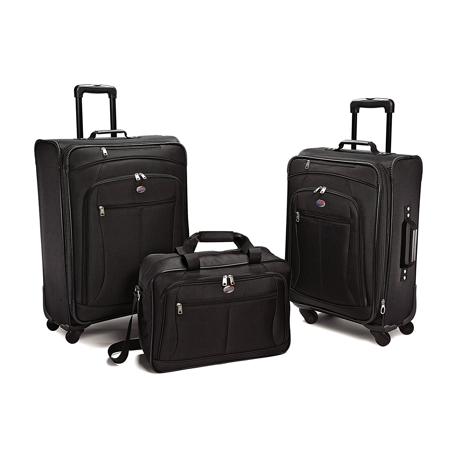 4f268b03947 Get Quotations · American Tourister Pop Plus 3 Piece Luggage Set