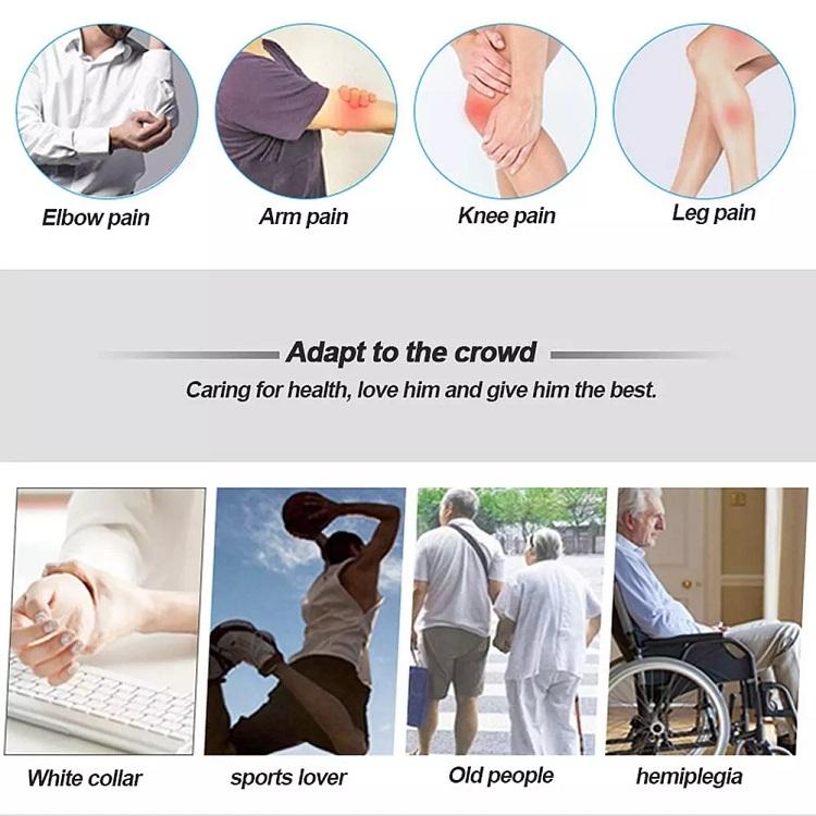 Amazon elettrico impastare TVP terapia portatile di compressione dell'aria gamba massaggiatore