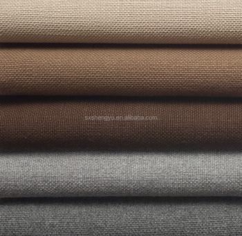 European Linen Cotton Textured Curtain