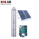 500w borehole/well dc submersible solar water pumps complete set for irrigation