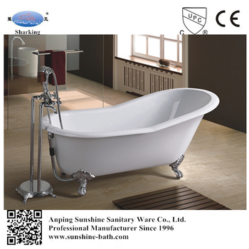 Custom Size, Best Cast Iron Bathtub For Sale,low Price Hot Enamel 1 Person