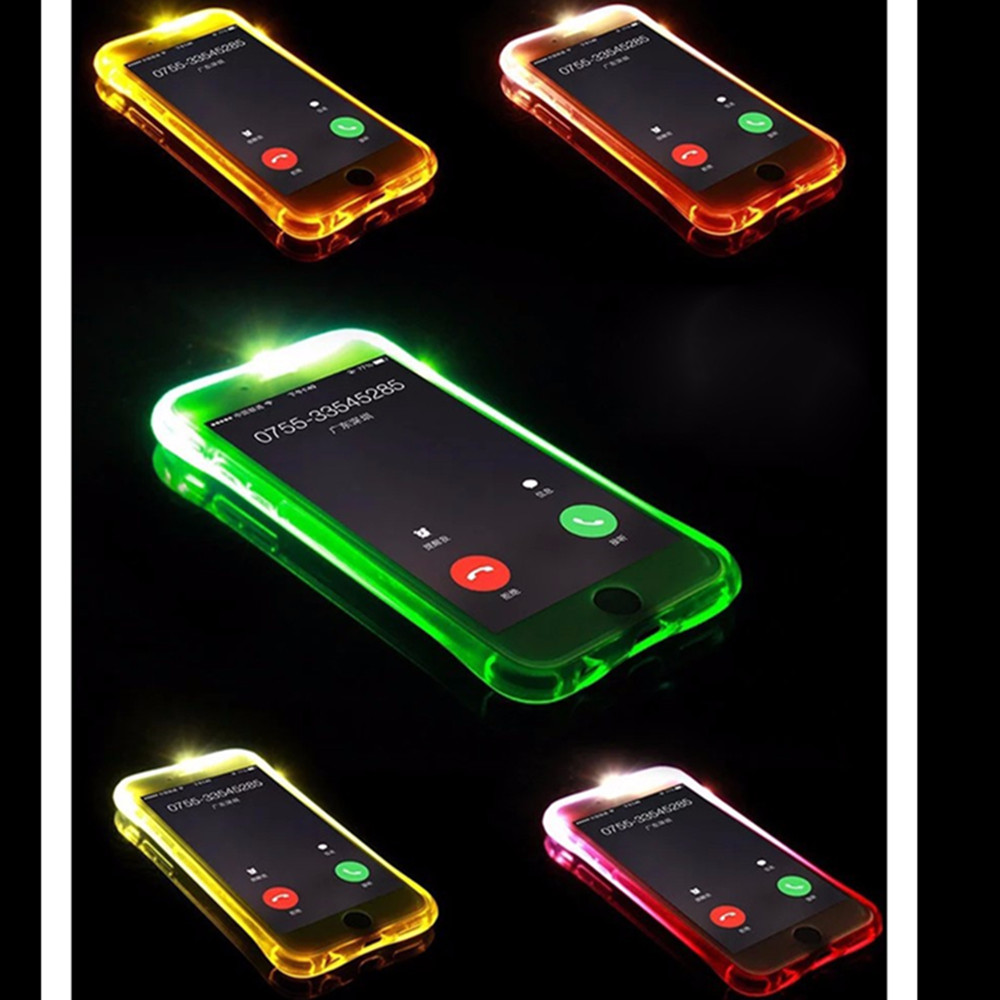 Led Flash Light Selfie Phone Case For iPhone 7 7 Plus, For iPhone 7 7 Plus Led Flash Case