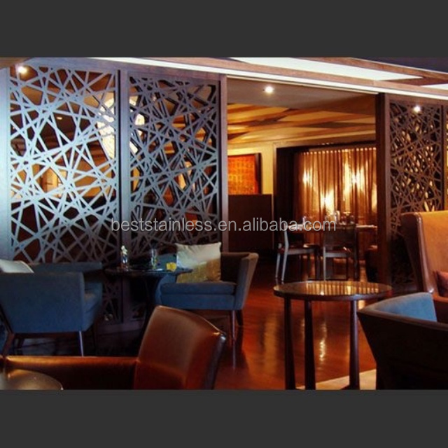 Stainless steel bar club decoration