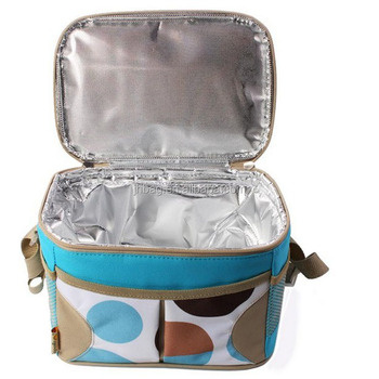 Polyester Hot Cold Tote Thermal Lunch Bag