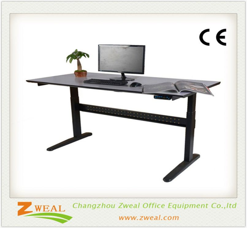 height adjustable computer desk electric furniture other part type and iron metal lifting columns