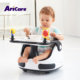 Best rated white black plastic portable travel booster toddler baby floor seat