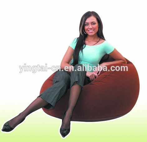 King Throne Inflatable Chair Sofa Transparent Inflatable Furniture For  Adults