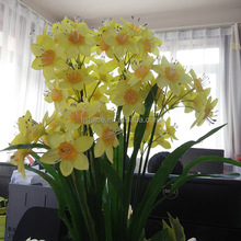 high quality daffodil flowers cheap artificial flower