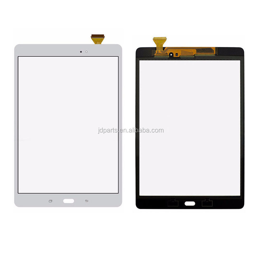 Touch screen Sensor Glass Digitizer For Galaxy Tab A 9.7 SM-T550 T550 T551 T555 Repair Replacement 100% Test