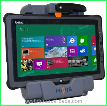 Made in Taiwan Getac F110 Fully Rugged mobile tablet pc with camera