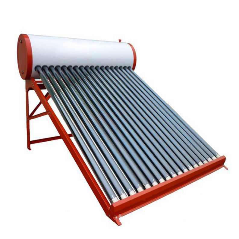 Solar + Electric Hot Water Heater System With 80-500 Liter Capacity