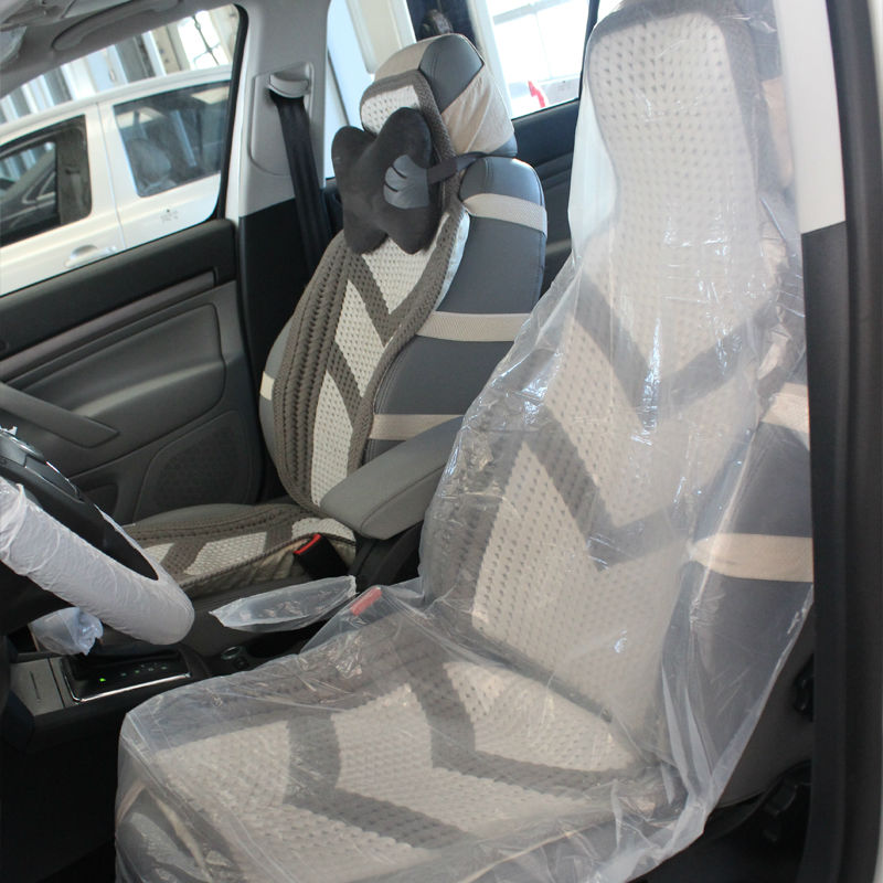 PE Disposable Toyota Car Seat Covers