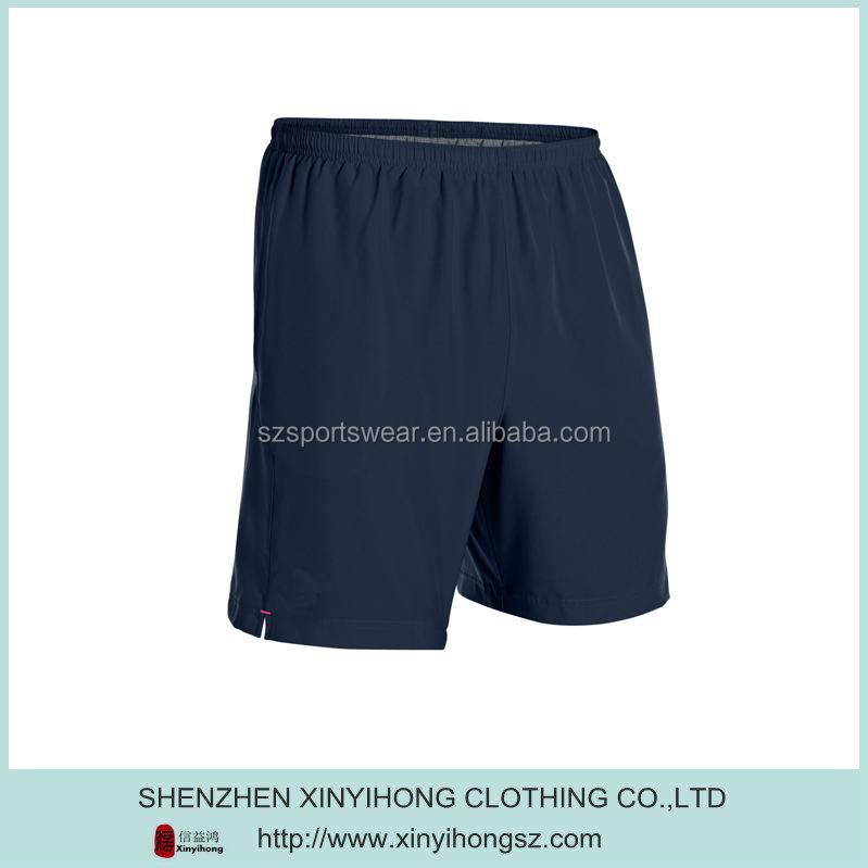 Outdoor Plain Navy Blue Color Nylon Men's Walk Shorts - Buy ...