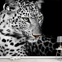 China Supplier Custom size Animal wallpapers hd 1080p images mural wall paper for living room mural wallpaper 3d