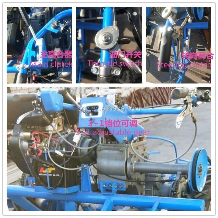 Agy Reaper Binder Bcs 622 Rice Harvester With Three Wheel