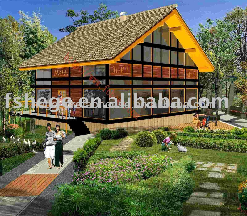 light steel prefabricated home plans