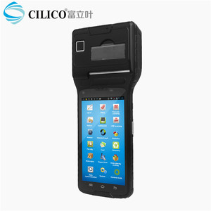 Android thermal printer Barcode scanner PDAS within NFC reader/writer ,GPRS/GSM,bluetooth,wifi,Camera
