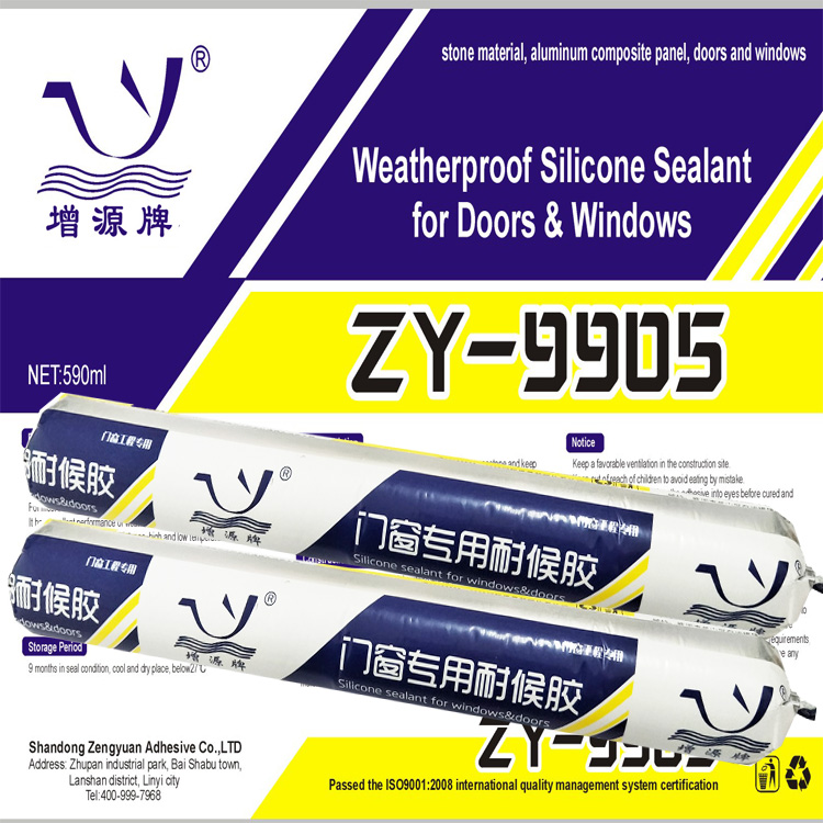 Weatherproof Silicone Sealant for Doors & Windows