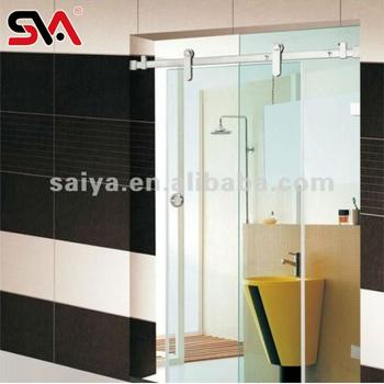 Nuevo de vidrio sin marco puerta corredera para ducha de ba o puerta corredera de serie buy - Puerta corredera bano ...