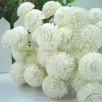 White Chrysanthemum Flower Shape Aroma Home Fragrance Sola Flower