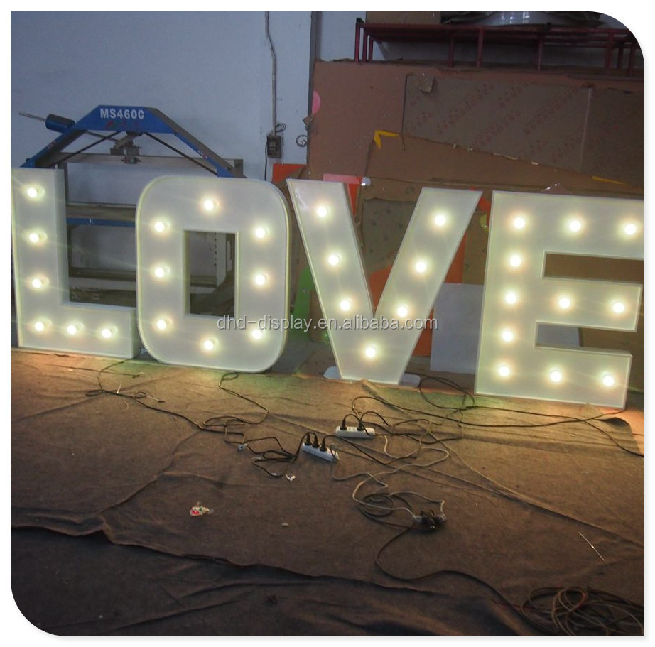 giant bulb love marquee letters giant bulb love marquee letters suppliers and manufacturers at alibabacom