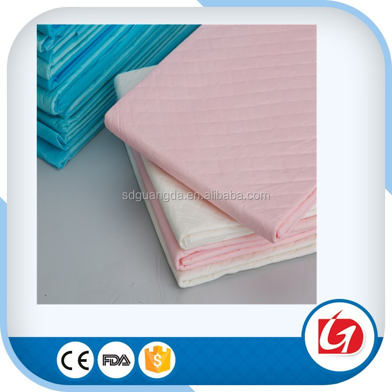 hospital disposable adult underpads for incontinents under pad