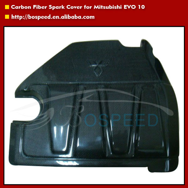 Carbon Fiber Spark Cover for Mitsubishi EVO 10