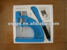 Hand press grommet machine
