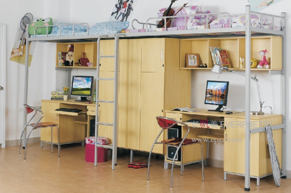 bunk bed desk set multifunction bunk bed school furniture bed desk set