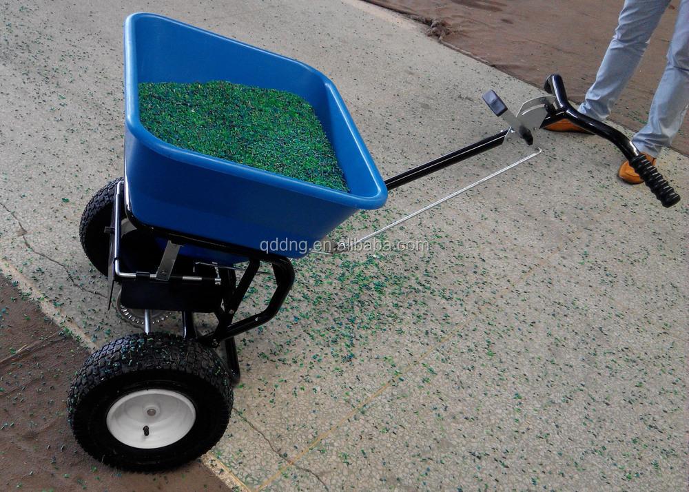 Garden Fertilizer Broadcast Spreader Lawn Manual Seeder Manual ...