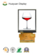 MCU interface FFC plug to socket connection 2.8 inch transparent lcd display panel