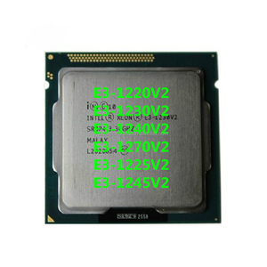 Intel Xeon E3-1230 V2 1220v2 1225v2 1245v2 quad core 1155 CPU ready stock best offer