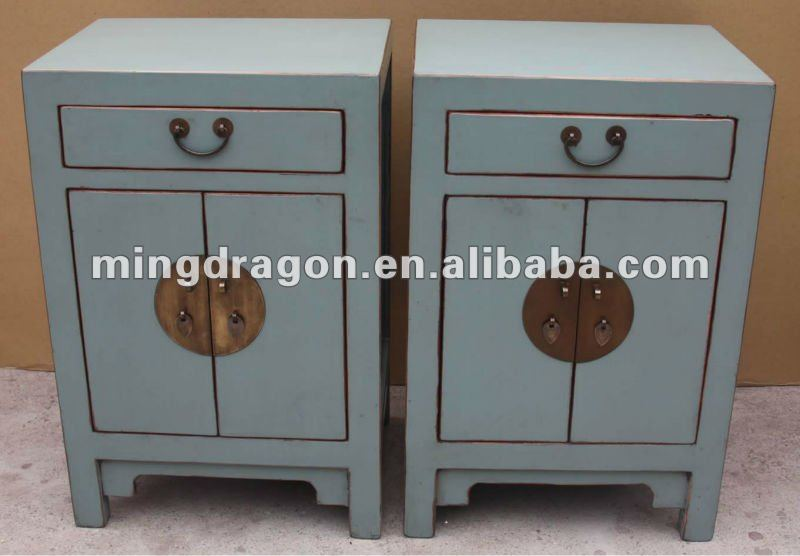 Chinese Antique Living Room Blue Bedside Cabinet   Buy Antique Blue Corner  Cabinets,Antique Chinese Blue Buffet Cabinet,Chinese Antique Style Shoes  Cabinet ...