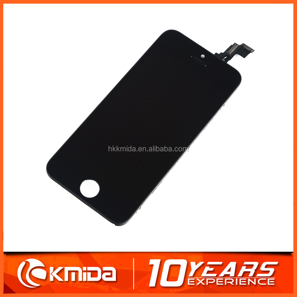 Reliable quality for iphone 5c replacement front glass panel,tianma LCD for iphone replacement