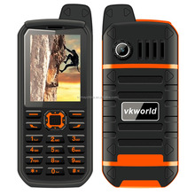Komay hottest VKworld stone 4000mAh big battery bluetooth mobile phone dustproof waterproof dual sim FM radio cellphone V3 Plus
