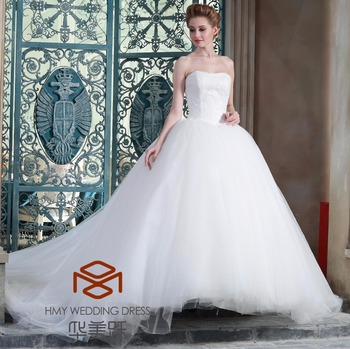 Short Front And Long Back Ball Gown Wedding Gowns Off The Shoulder ...