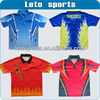 custom table tennis shirt sports suits for women clothes men