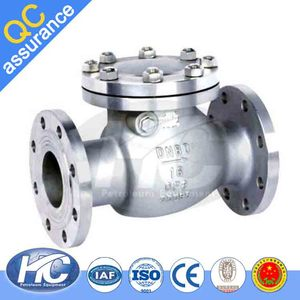 Factory direct sale air compressor check valve / ball float check valve / non-return valve made in china