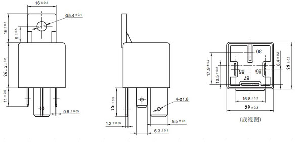 wholesale zt616 12v 24v 4pin 5pin 80a 100a auto relay jd1912/1914,Wiring diagram,Wiring Diagram For Relay Jd2912 24Vdc
