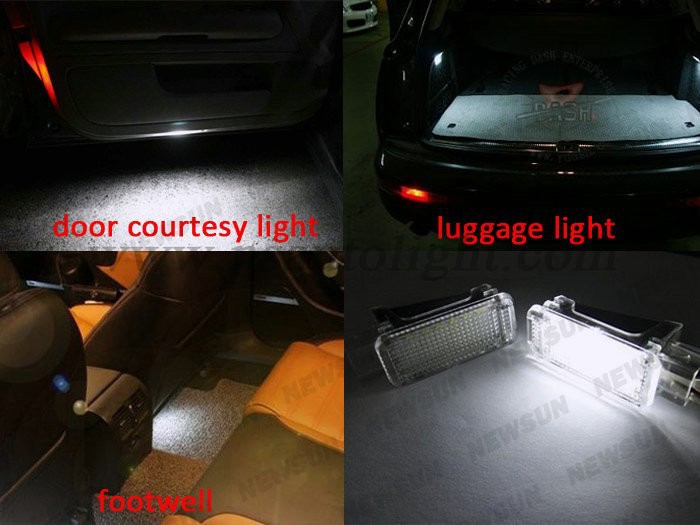 Led Interior Light For Audi A3/s3/a4/s4/rs4/a5/s5/a6/s6 Led Door ...